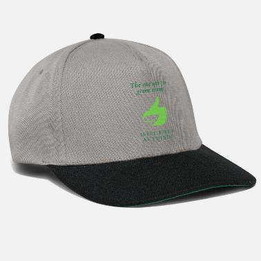 Blühen The one with the green thumb - Snapback Cap
