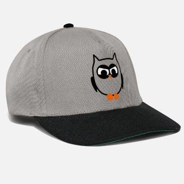Owl Angry Owl - Snapback Cap