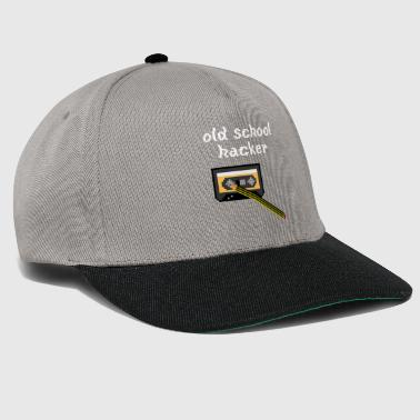 old school hacker - Snapback Cap