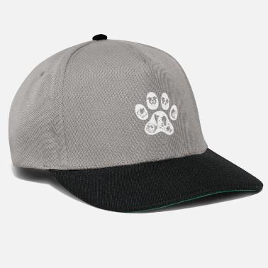Paw Dogs paw -black edition- - Snapback Cap