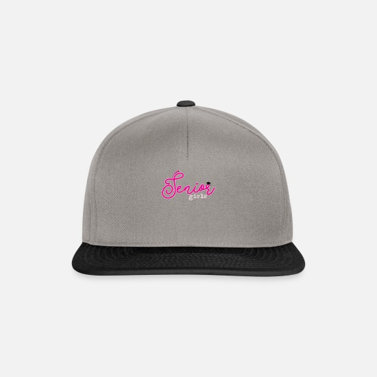 Birthday Caps & Hats - girl - Snapback Cap graphite/black