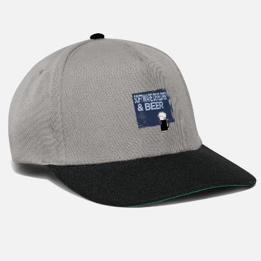 Vauva Software Developer & Beer - Snapback-lippis
