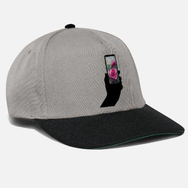 Phone Mobile phone with text - Snapback Cap