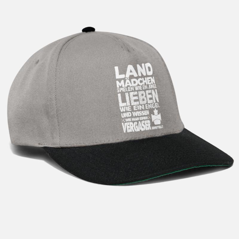 Cool Sayings Caps   Hats - Country girls can screw - Snapback Cap  graphite black 55fc7948b50