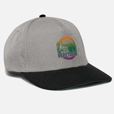 5486f13090f Eco Vegetarian Shirt · Sustainable · Vegan Gift - Snapback Cap