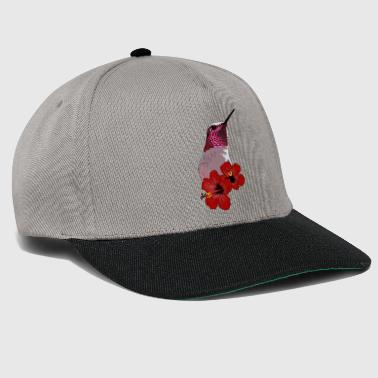 Ruby Chested Humming bird - Snapback Cap