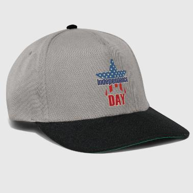 Independence Day 4 juillet USA - Casquette snapback