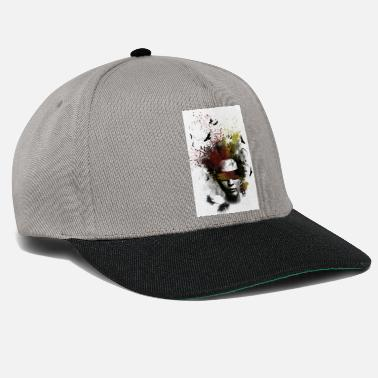 face art - Snapback Cap