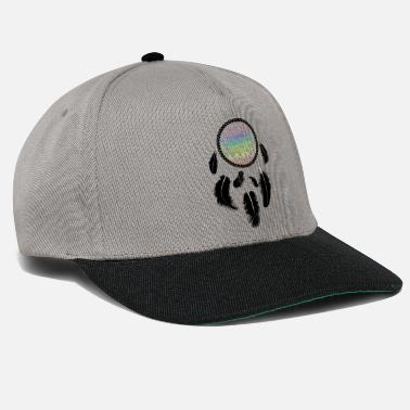 Dream Catcher Rainbow Mandala Feather Gift - Snapback Cap 955409ea42a9