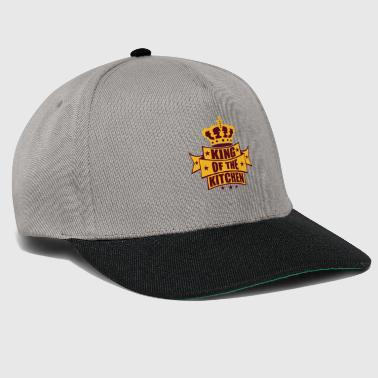wappen krone king of the kitchen koenig banner tex - Snapback Cap