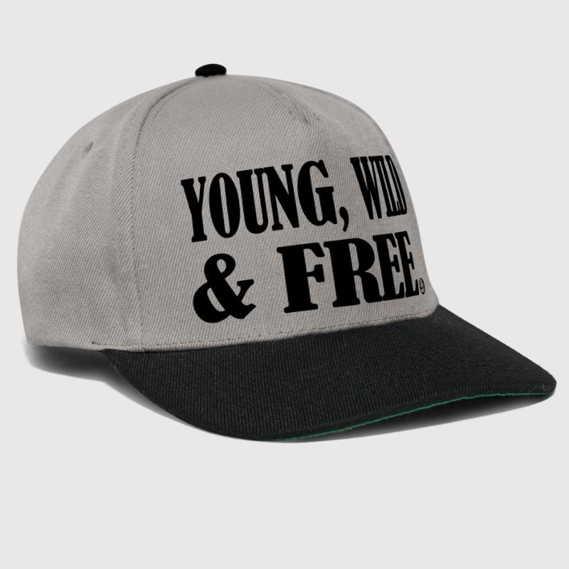 young wild and free - Snapback Cap