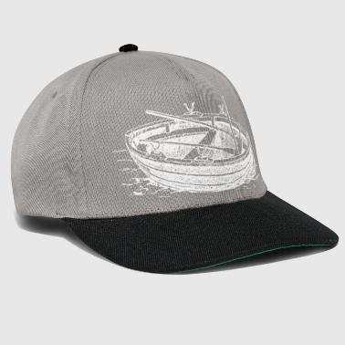 fishing boat - Snapback Cap