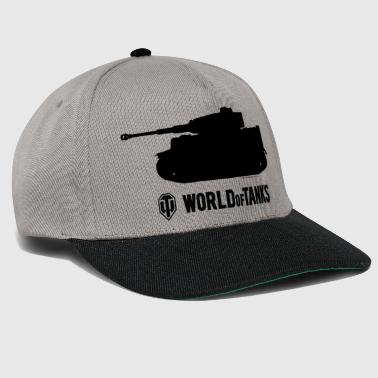 World WoT - Tiger Silhouette Black - Snapback Cap
