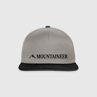 Mountaineer Mountain - Snapback Cap