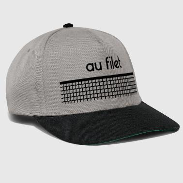 Tennis net - Customizable - Snapback Cap