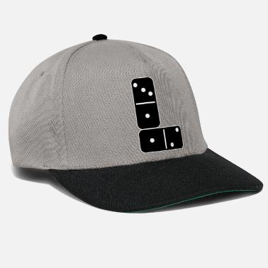 Domino Dominoes Domino Player Placement 1312 Cadeau - Casquette snapback