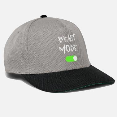 Mode Beast Mode On Gym Fitness Gift - Snapback cap