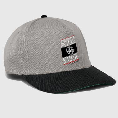 Krav Maga Shotokan Karate It In my Blood Tiger Kanji - Snapback Cap
