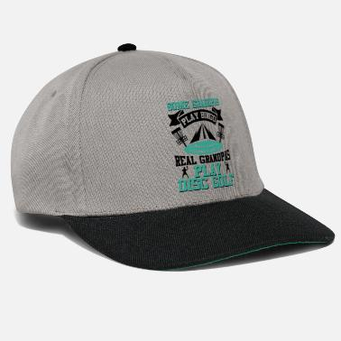 Trendsport Some Grandpas play Bingo Grandpas Play Disc Golf - Snapback Cap