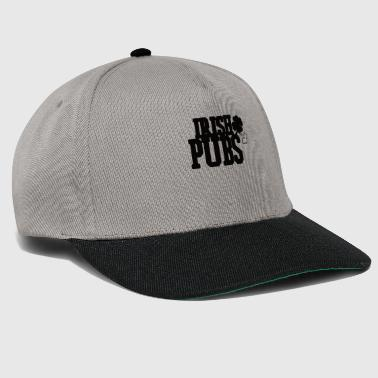 Irish pubs black font - Snapback Cap