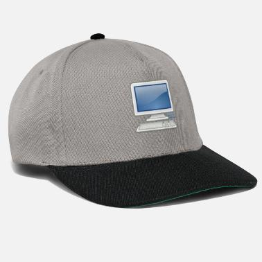 Pc great for PC nerds or PC in love - Snapback Cap