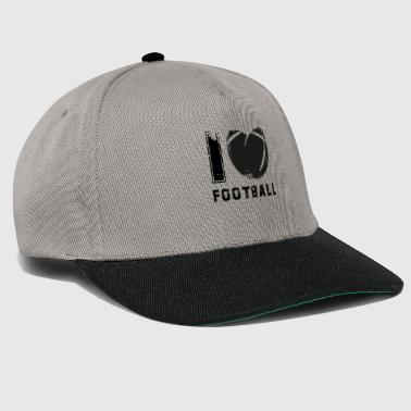 American football black used look gift - Snapback cap