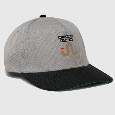 Cool worm worms gift - Snapback Cap