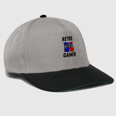 Anni 80 Gamer Shirt Retrogaming regalo da 90 anni - Snapback Cap