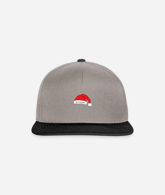 Santa Caps & Hats - christmas - Snapback Cap graphite/black
