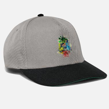Avelignese Cavallo Pony Rider Western Riding Watercolor Ross - Cappello snapback