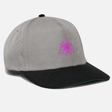 Esoteric Triangle SuperFlower Violet - Snapback Cap