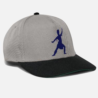 Vector Asian Silhouette - Snapback Cap
