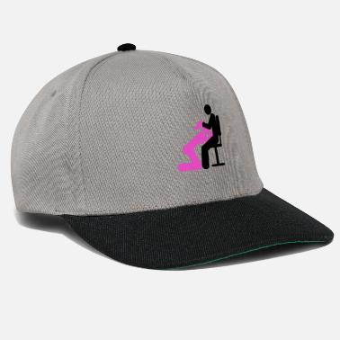Sex Position BJ in the office sex positions - Snapback Cap