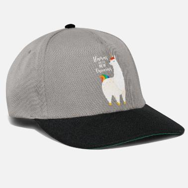 Llama Llamas Are The New Unicorns - Snapback Cap