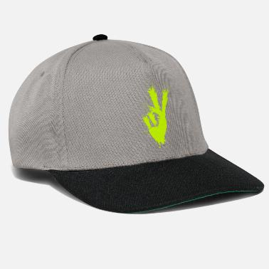 Sign Victory Sign Finger Victory Symbol Freedom Peace - Snapback Cap