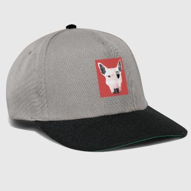 Pittbull watercolor painting - Snapback Cap