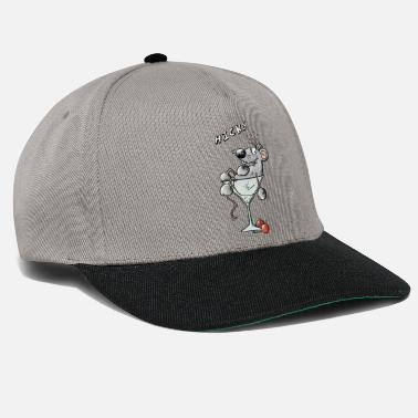 Comic Cocktail Funny Cocktail Mouse - Snapback Cap