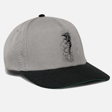 Water water dragon black - Snapback Cap