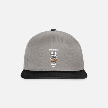 Whatever Watch this, chicken with flying eyes - Snapback Cap