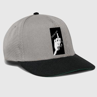 East middle finger - Snapback Cap