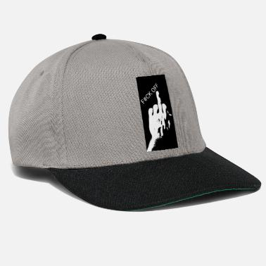 Middle East middle finger - Snapback Cap