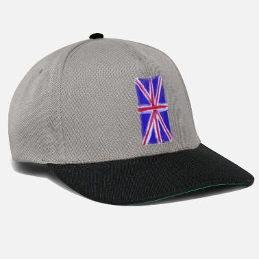 The British Empire British flag - Snapback Cap