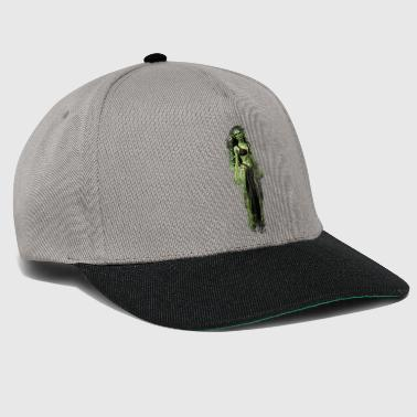 Witch monster brightly glowing - Snapback Cap