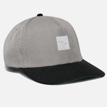 Pinterest Life quote - Snapback Cap
