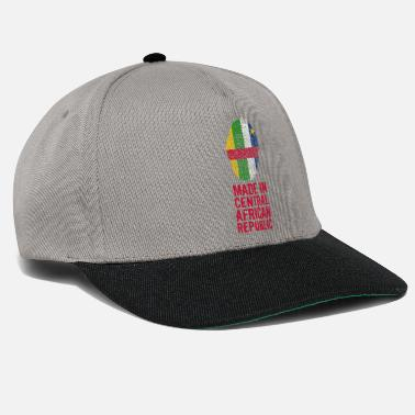 8283592b14fd7 République Centrafricaine Made In République centrafricaine - Casquette  snapback