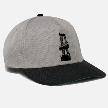 Brooklyn Bridge Manhattan Bridge in Brooklyn - Snapback cap
