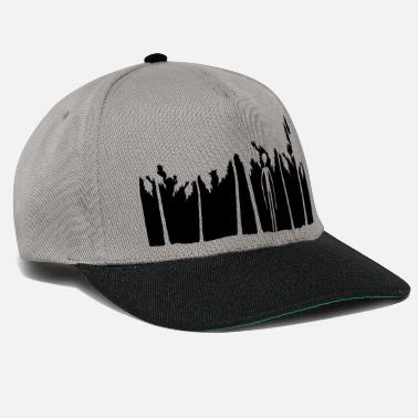 Poor holiday palms island black alien man long arm - Snapback Cap