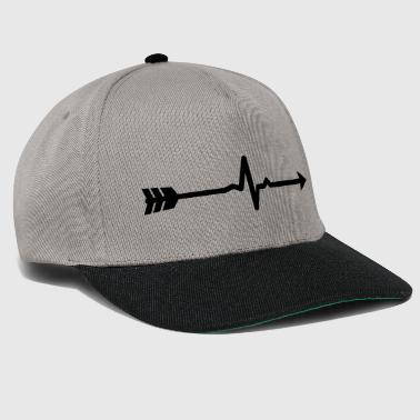 Arrow Pulse (Bogenschießen by BOWTIQUE) - Snapback Cap