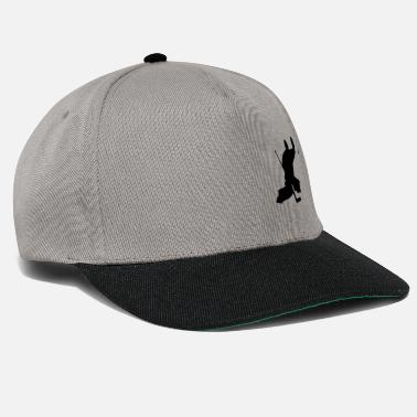 ice hockey keeper - Snapback Cap