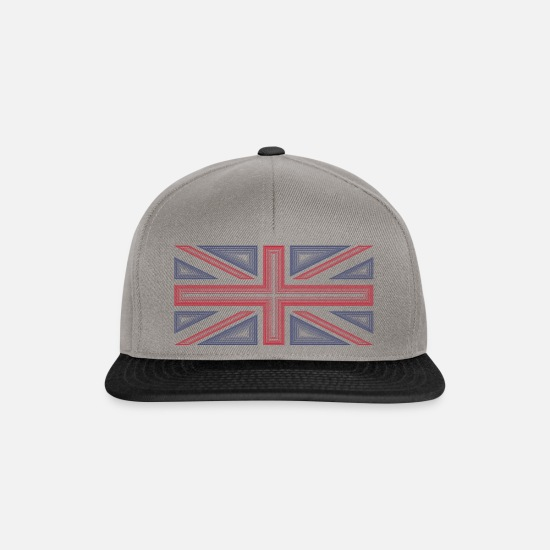Union Caps & Hats - Union Jack - Snapback Cap graphite/black